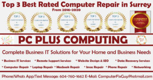 Best Computer Repair shop in surrey