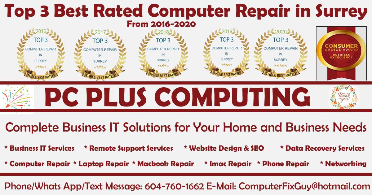 Best Computer Repair shop in surrey